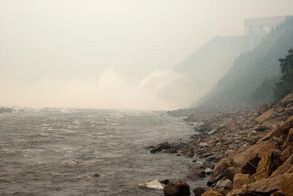 пос. Синегорье, Колымская ГЭС.