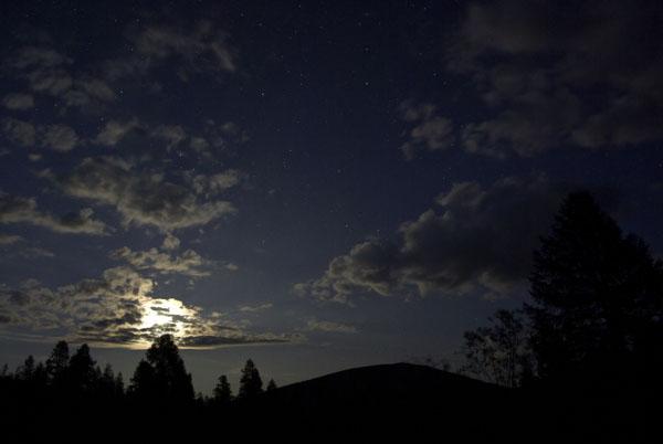 Пейзаж с луной...