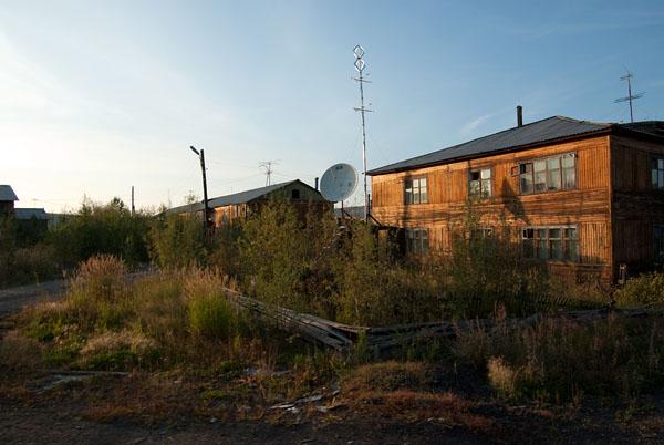 Жилые дома Усть-Среднекана
