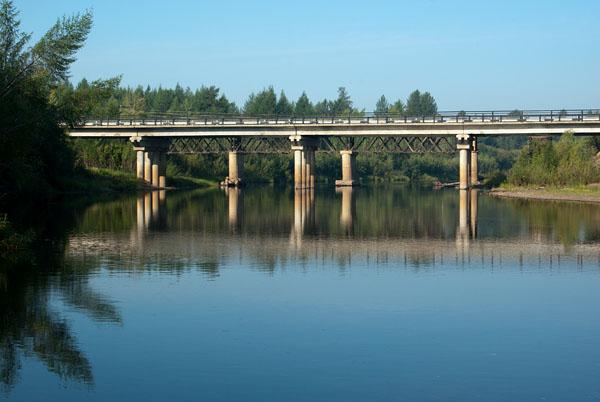 Мост через р. Эльген