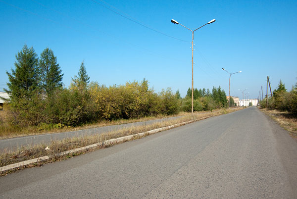 Въезд в Сеймчан