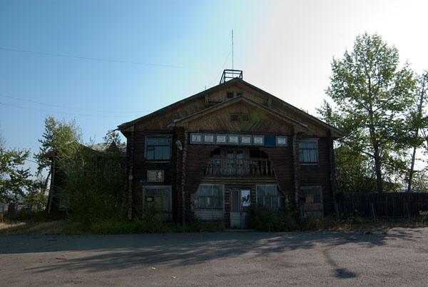 Здание аэропорта Сеймчан