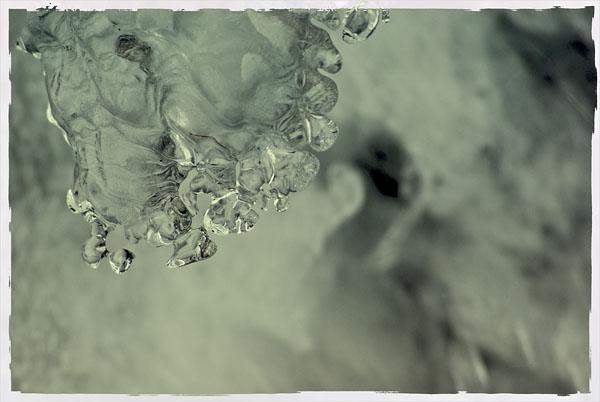 Снимок льда (обработка одним из фильтров в ФШ)