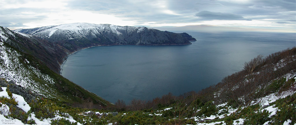 Бухта Светлая (вид сверху, панорама)